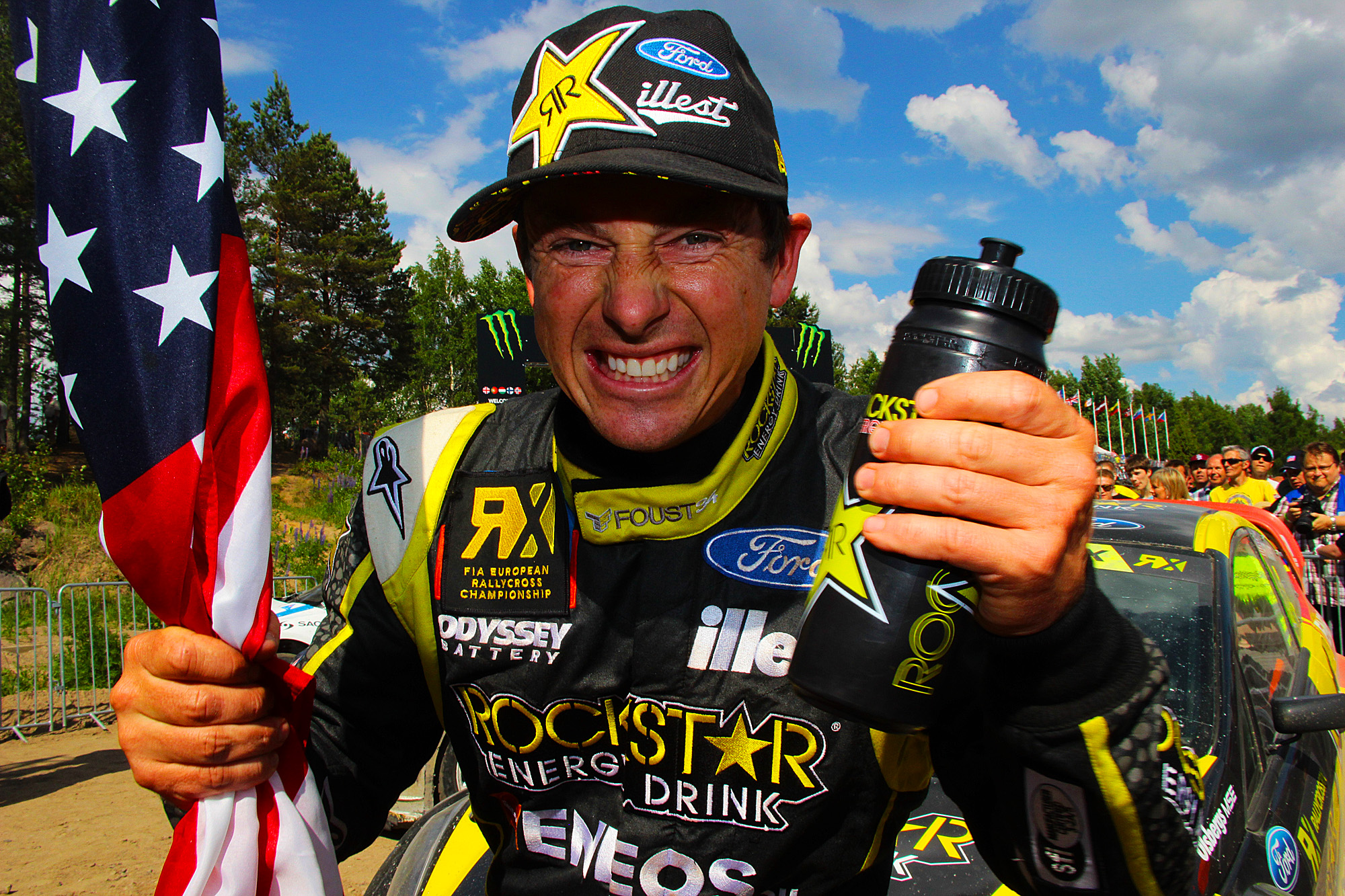 Victory for Tanner Foust in Finland
