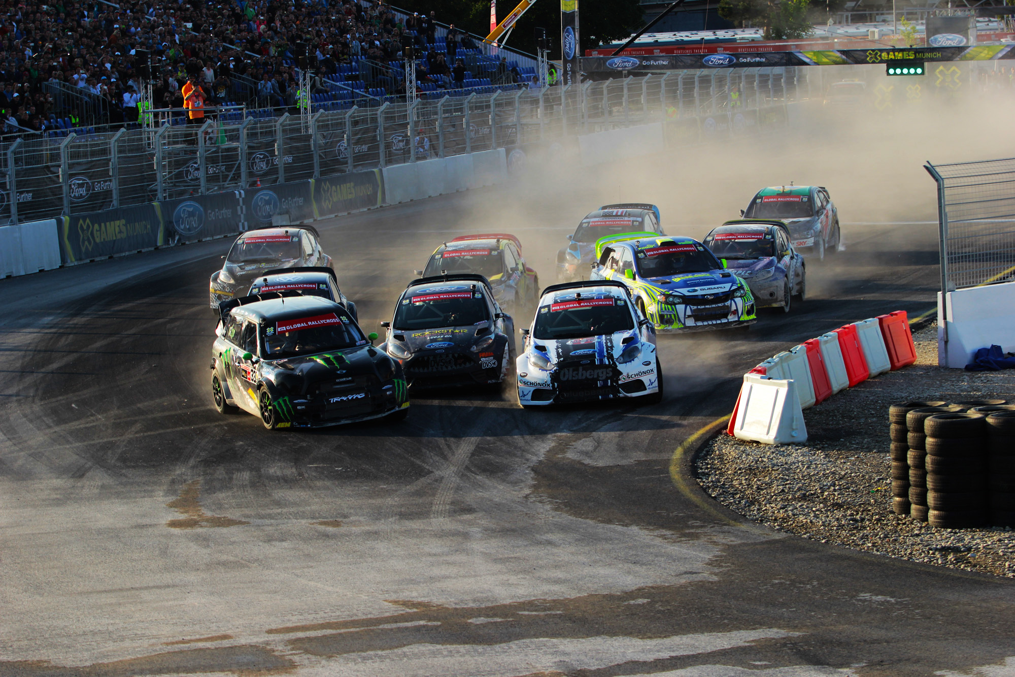 HEIKKINEN GETS GOLD AND FOUST BRONZE AT X GAMES MUNICH IN FORD FIESTA ST