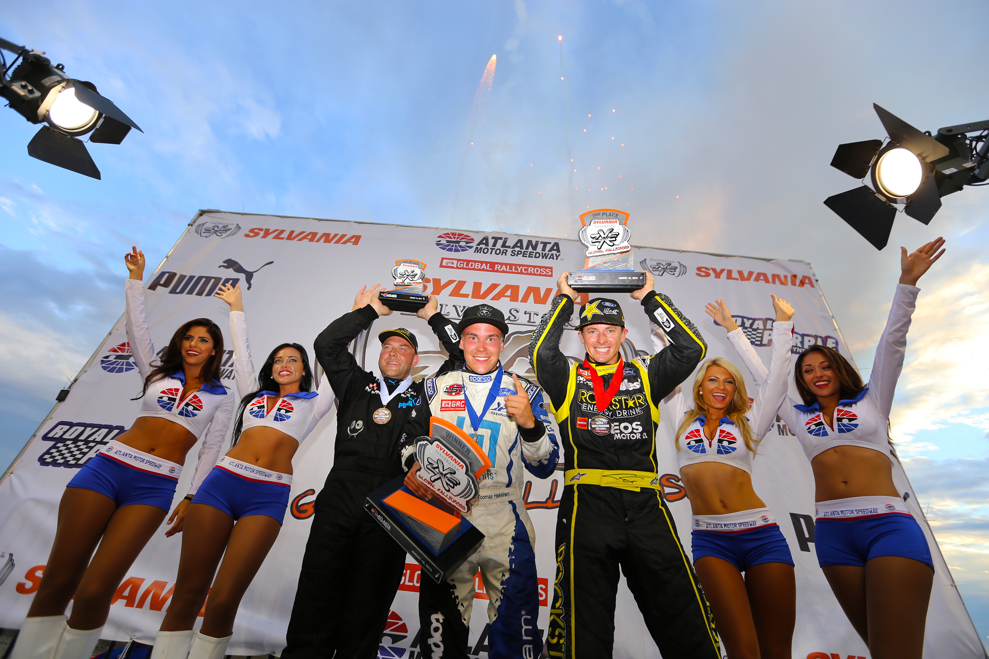 HEIKKINEN CONTINUES HOT STREAK BY BECOMING FIRST DRIVER TO WIN FIVE STRAIGHT GLOBAL RALLYCROSS EVENTS