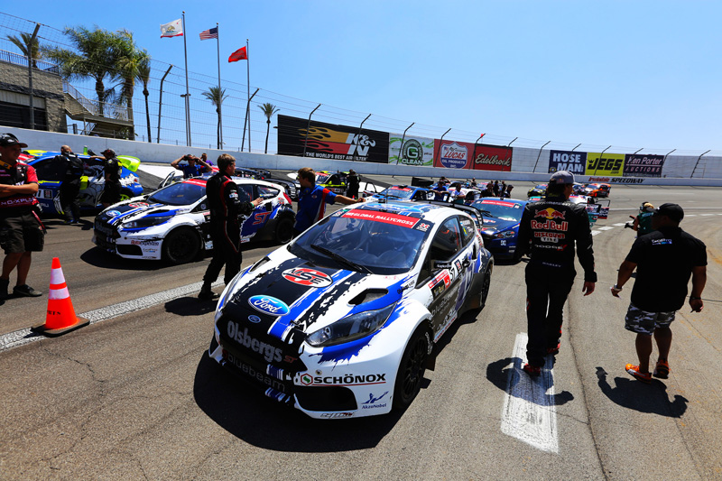 Ford Clinches Global RallyCross Manufacturers' Championship as Heikkinen and Foust Take Gold and Silver at X Games Los Angeles