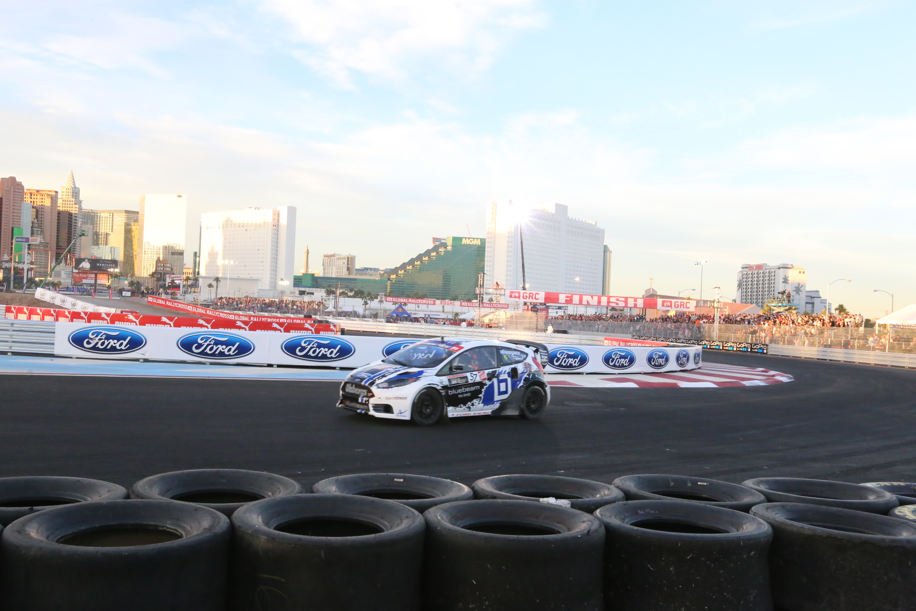 BLOCK WINS FIRST GLOBAL RALLYCROSS RACE; HEIKKINEN, FOUST, AND BLOCK TAKE 1-2-3 IN CHAMPIONSHIP FOR FORD