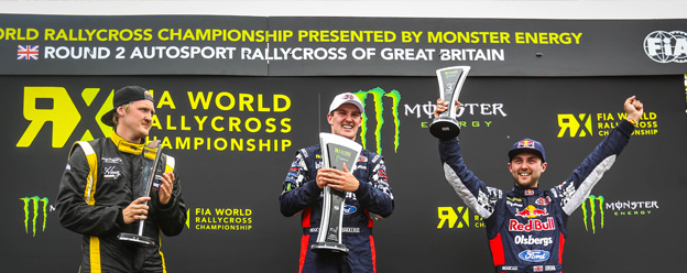 Another World RX double podium for Olsbergs MSE