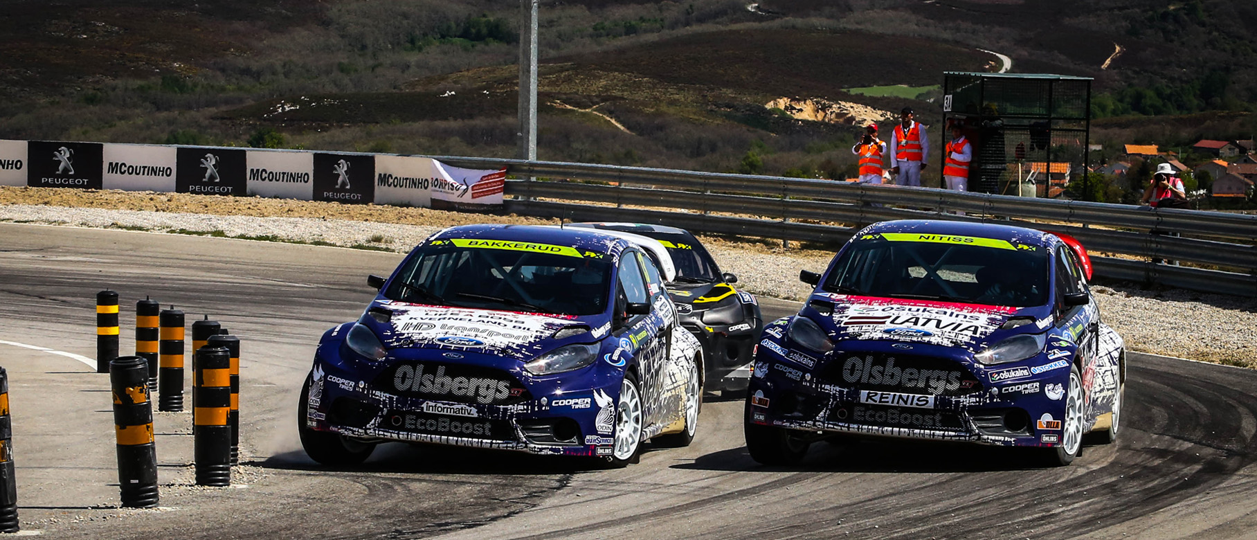 Double podium for Olsbergs MSE Ford at World Rallycross Championship in Portugal