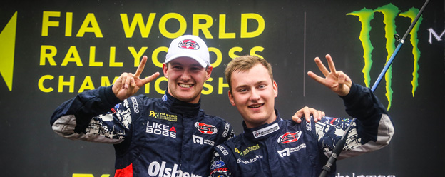 Bakkerud and Nitiss return to World RX podium in Finland