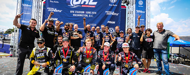 Olsbergs MSE team drivers first and third in Ford D.C. podium sweep