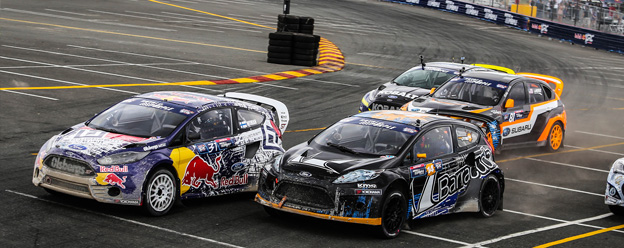 Olsbergs MSE Ford rallycross drivers Top 5 in GRC points chase