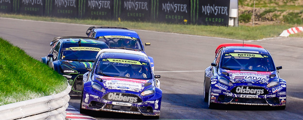 Good speed but mixed results in World RX of Germany