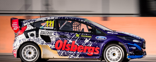 OMSE Guest Richard Göransson scores podium in WRX Supercars debut