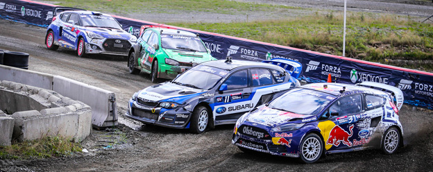 Olsbergs MSE Ford driver leads Red Bull Global Rallycross Championshi