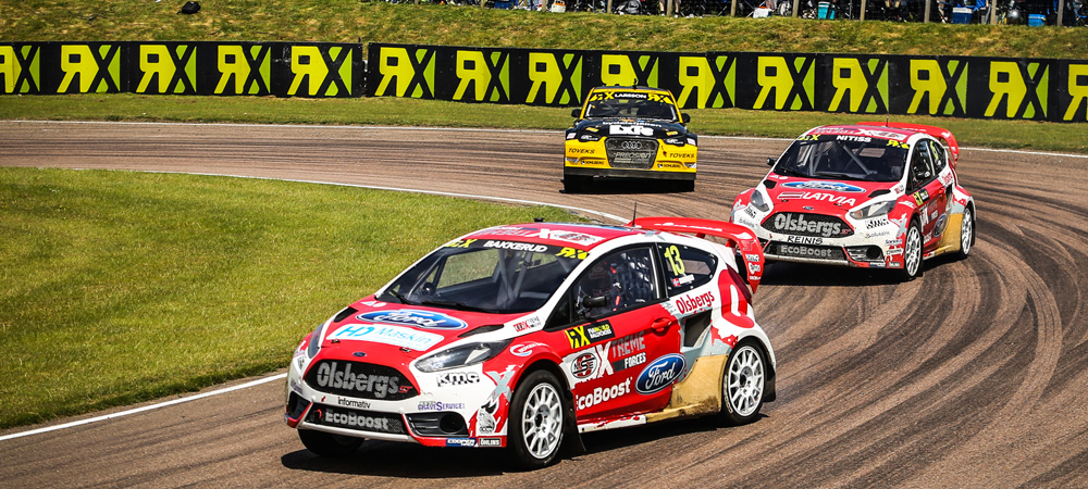 OMSE Ford leads teams in FIA WorldRX