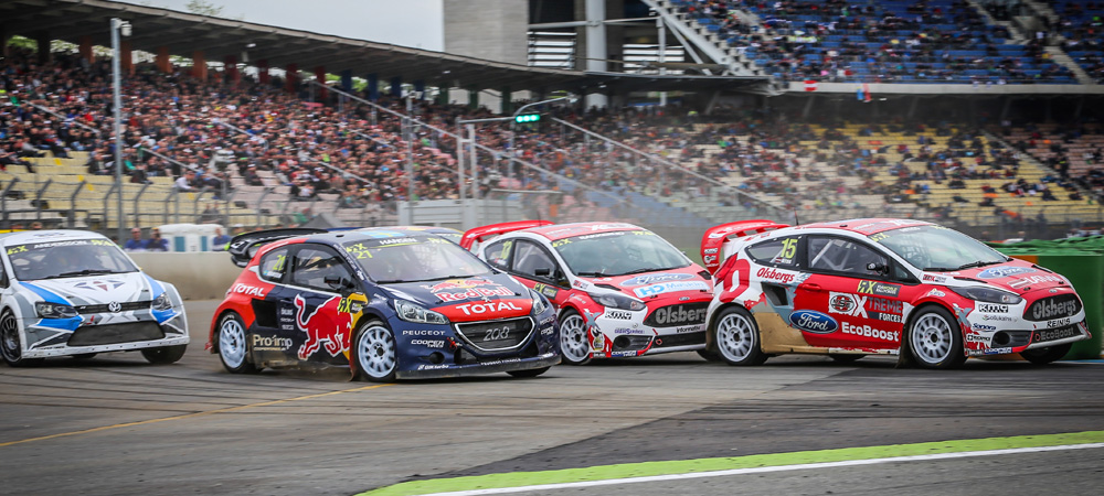 Podium for OMSE Ford at World RX Hockenheim