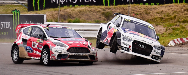 Frustration for Andreas Bakkerud in World RX of Germany Final