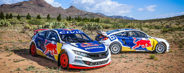 HONDA TO MAKE RED BULL GRC DEBUT IN PHOENIX
